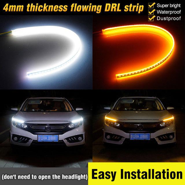 Open Headlight DRLs